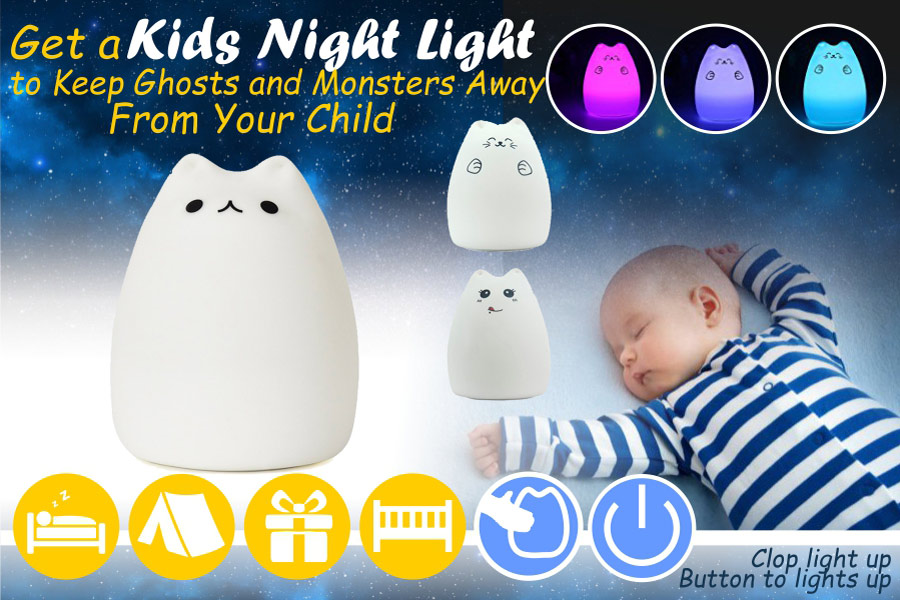 Comparison of Kids Night Lights for Your Child's Restful Sleep