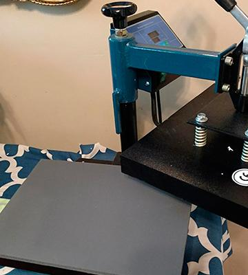 Review of Power Heat Press Fancierstudio Heat Press
