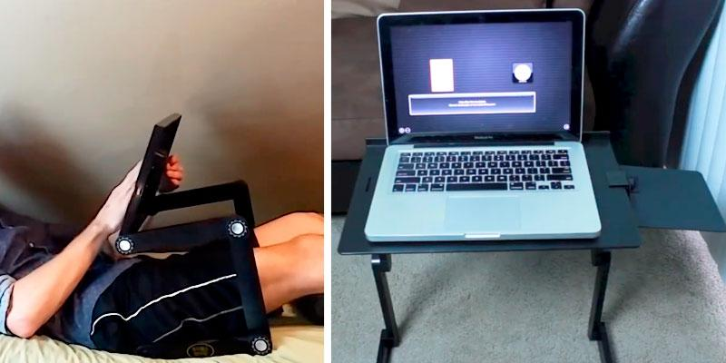 Review of Desk York DY-110 Folding Laptop Table