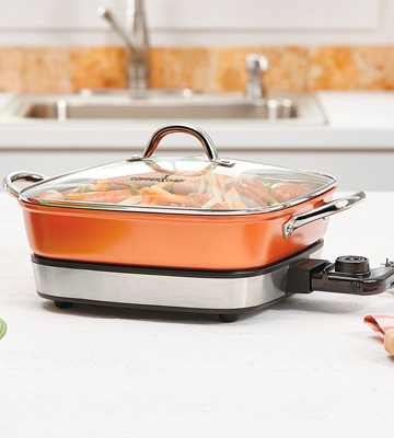 Review of Copper Chef 12 removable Electric skillet