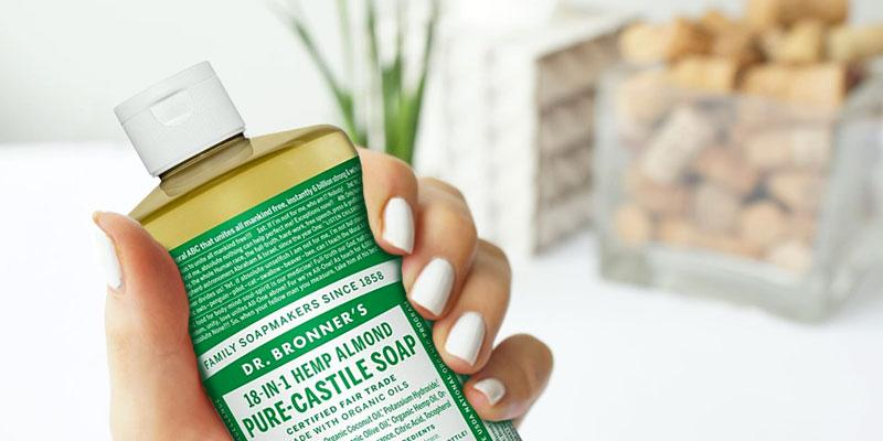 Review of Dr. Bronner's Pure-Castile Soap Liquid