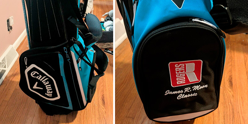 Callaway Chev Golf Stand Bag in the use