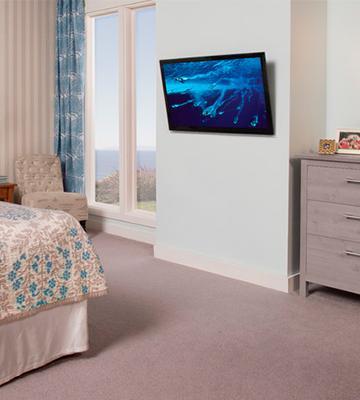 Review of VideoSecu MF608B Tilt TV Wall Mount Bracket & 5 Best TV Wall Mounts Reviews of 2018 - BestAdvisor.com
