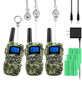 Wishouse Rechargeable Walkie Talkies for Kids