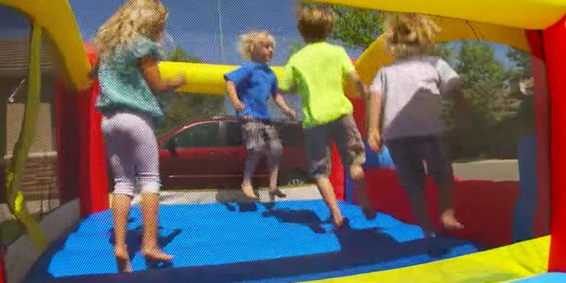 Little Tikes Jump 'n Slide Bouncer in the use
