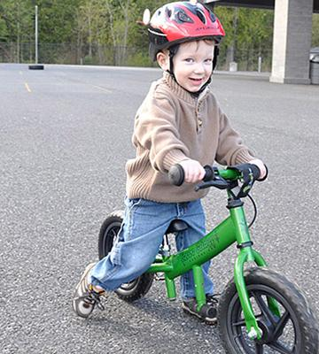 Review of Glide Bikes EZee Balance Bike