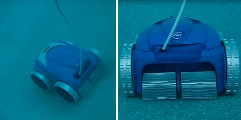 Polaris F9550 Sport Robotic In-Ground Pool Cleaner in the use