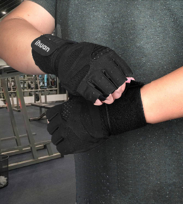 Review of ihuan Professional Ventilated Weight Lifting Gym Workout Gloves