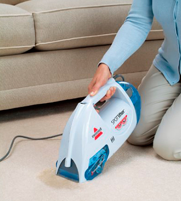 Review of Bissell 1716B Spotlifter Powerbrush Handheld Deep Cleaner