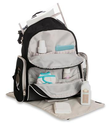 Review of Graco GA11075 Smart Organizer System Diaper Bag