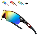 Rivbos Polarized Sports Sunglasses for Cycling Running