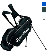 TaylorMade 5.0 BlkWht Stand Golf Bag