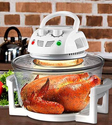 Review of NutriChef PKAIRFR48 Halogen Oven