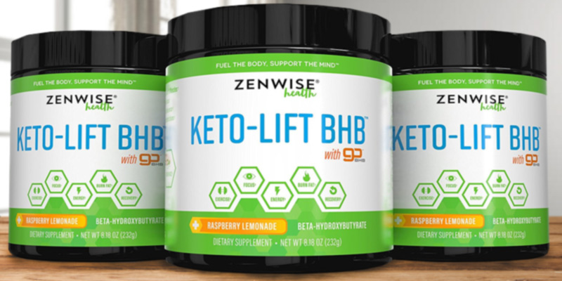 Zenwise Health 856521007543 Keto BHB Salts Supplement in the use