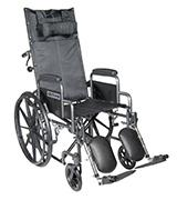 Drive Medical SSP18RBDDA Silver Sport Reclining Wheelchair