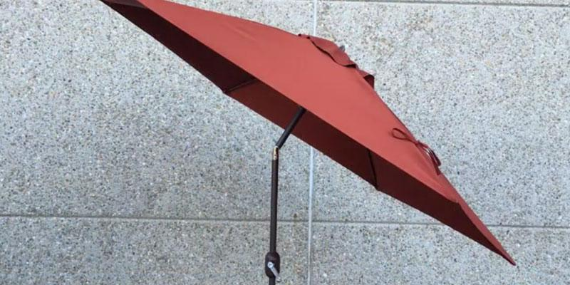 5 best patio umbrellas reviews of 2018 for Best outdoor umbrellas reviews
