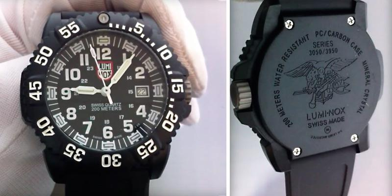 Luminox 3051 Men's EVO Navy SEAL Colormark Watch in the use