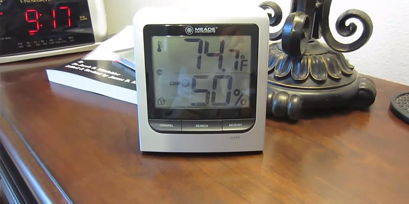 Review of Meade TM005X-M Wireless Indoor/Outdoor Thermo Hygrometer