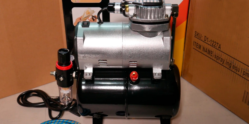 Review of Zeny 4336951446 Airbrush Air Compressor with 3L Tank