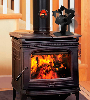 Review of CWLAKON New Design Wood Stove Fan