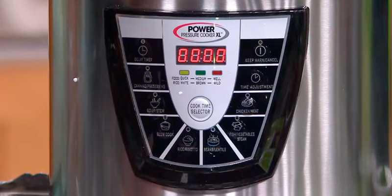 Power Pressure Cooker XL PPC 6 Quart Pressure Cooker application