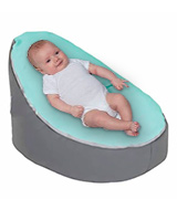LCY Baby Bean Bag Chair Grey Blue UNFILLED