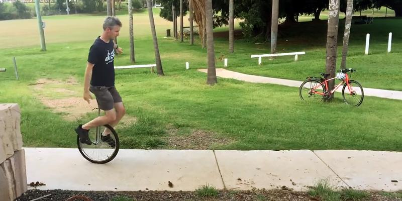 "Avenir 20""  Deluxe Unicycle in the use"