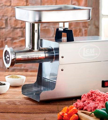 Review of LEM 17791 Big Bite #8 .5HP Stainless Steel Electric Meat Grinder