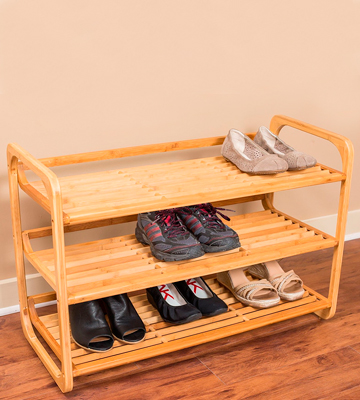 Review of BirdRock Home BamRack0 3-Tier Bamboo Shoe Rack