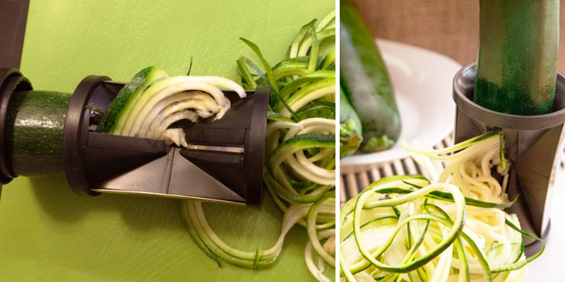 Review of Zoodle Slicer The Original Complete Vegetable Spiralizer, Spiral Slicer