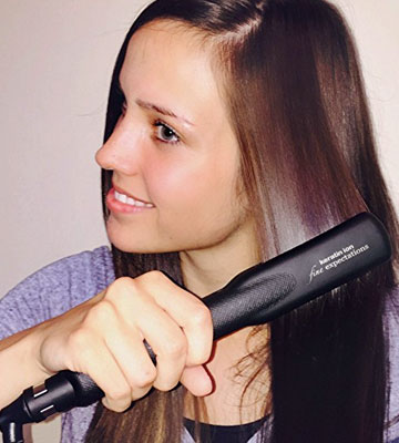 Review of Fine Expectations GS-007 Professional Ceramic Tourmaline Flat Iron