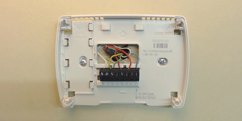 Honeywell TH3110D1008 Digital Thermostat in the use