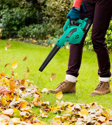 Review of KIMO 6002-2.0 Cordless Leaf Blower, 2-in-1 Handheld Vacuum/Sweeper