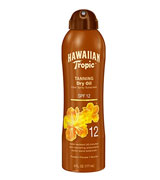Hawaiian Tropic SPF 12 Tanning Dry Oil Spray