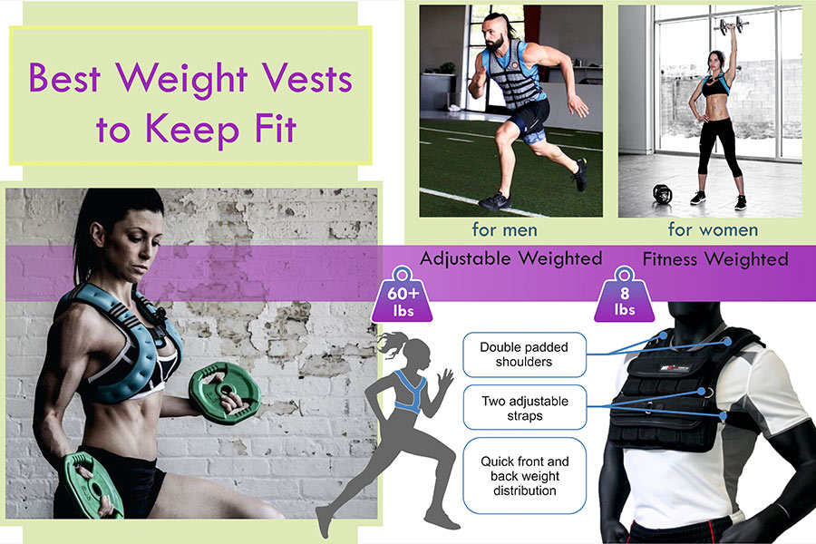 Comparison of Weight Vests to Keep Fit