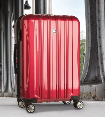 Review of Delsey Helium Aero Expandable Spinner Case