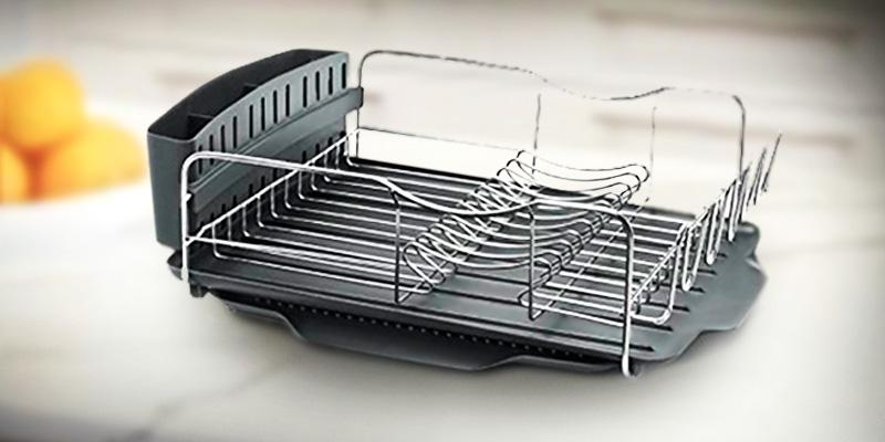 Polder KTH-615 Advantage Dish Rack in the use
