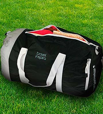 Review of Travel Inspira FBHI-5022-BK-40L Foldable Luggage Duffle Bag for Sports