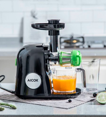 Review of Aicok AMR521 Slow Masticating Juicer Extractor