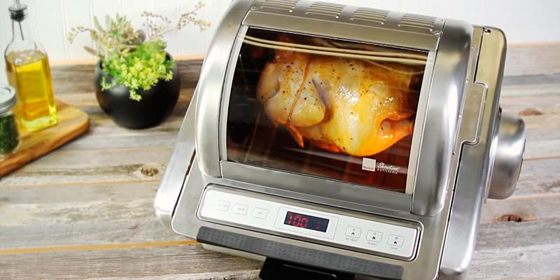 Ronco ST5250SSGEN Store Stainless Steel Rotisserie Oven in the use