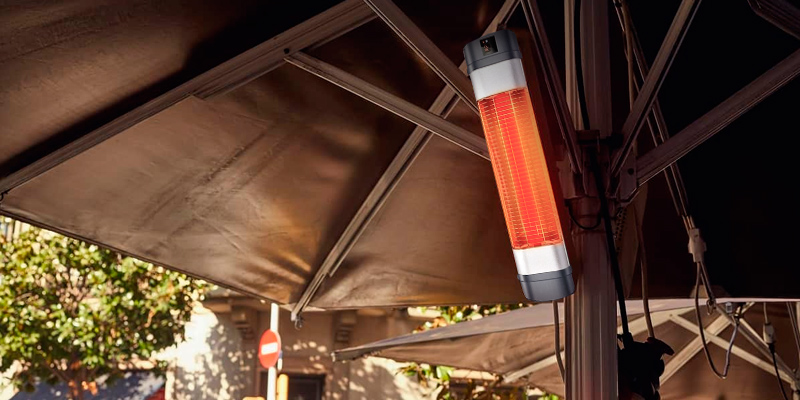 Review of Trustech Patio Heater Adjustable 1500W Infrared Heater