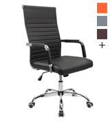Furmax Ribbed Home and Office Desk Chair