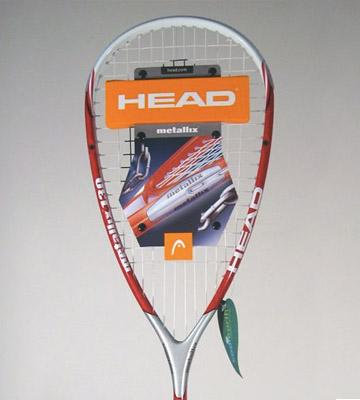 Review of Head Metallix 130 Squash Racket