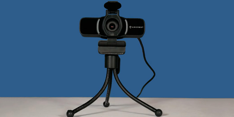 Amcrest (AWC201-B) 1080P Webcam with Microphone in the use