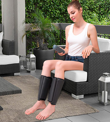 Review of QUINEAR Calf / Arm / Foot Massager