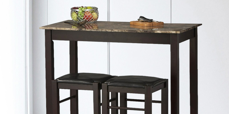 Review of Linon Kitchen Bar Table Set