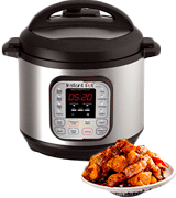 Instant Pot DUO80 (7-in-1) Electric Multi- Use Programmable Pressure Cooker