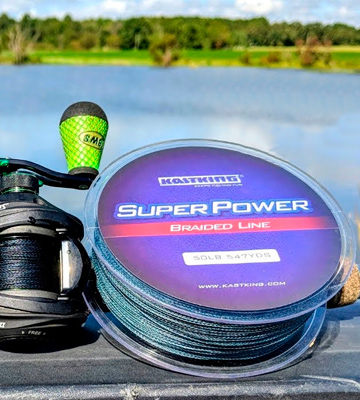 Review of KastKing SuperPower Braided Fishing Line