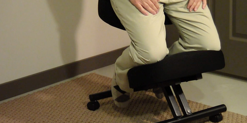 Office Star Ergonomic Knee Chair application