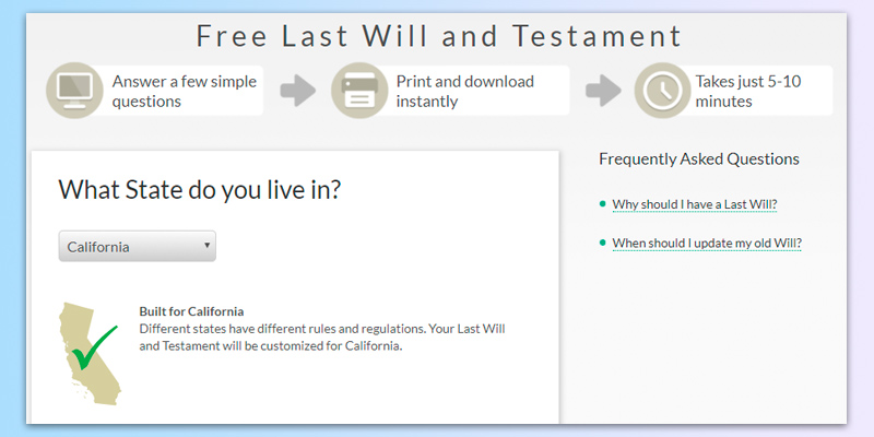 Review of LawDepot Last Will and Testament